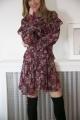 Le Gang - IRO - RED FLORAL - photo produit porté de face