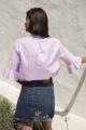 Le Gang - Maje - Blouse Pink Charly - photo produit porté de dos