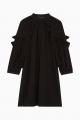 Le Gang - Tara Jarmon - Robe en Crepe Noire - photo produit non porté