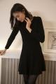 Le Gang - Ba&sh - Robe Kilim - photo produit porté de face