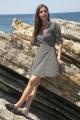 Le Gang - Arket - Robe Floral Wrap Dress Black - photo produit non porté