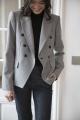 Le Gang - Stella McCartney - Blazer Tweed - photo produit porté de profil