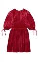 Le Gang - ALEXA CHUNG - Robe Flute - photo produit porté de face