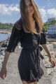 Le Gang - Sézane - Robe Joséphine - photo produit porté de face
