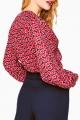 Le Gang - Tara Jarmon - Chemise Imprimé Coeur - photo produit porté de profil