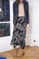 Le Gang - Isabel Marant Etoile  - Jupe Wilny - photo produit porté de dos