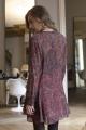 Le Gang - IRO - Robe Honess Bordeaux - photo produit porté de profil