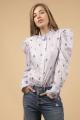 Le Gang - Isabel Marant - Chemise Utah Bleu - photo produit non porté