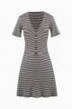 Le Gang - Reformation - Robe Mini Stripe - photo produit non porté