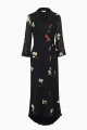 Le Gang - Ganni - Robe Lorita Imprimé Fleuri - photo produit non porté