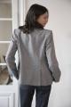 Le Gang - Stella McCartney - Blazer Tweed - photo produit porté de dos