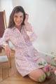 Le Gang - Ba&sh - Robe Sarah Ecru - photo produit non porté