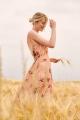 Le Gang - Paolo Casalini - Robe Floral Wrap - photo produit porté de face