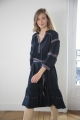 Le Gang - Ba&sh - Robe Patty Marine - photo produit non porté