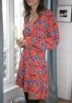 Le Gang - Saloni - Robe Eve - photo produit porté de dos