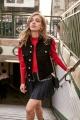 Le Gang - Isabel Marant - Jupe Navy Brodée - photo produit non porté
