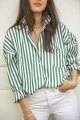 Le Gang - Repeller - Chemise  Stripe - photo produit porté de face