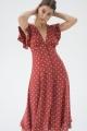 Le Gang - Auguste - Robe Polly Sunday - photo produit porté de face