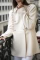Le Gang - Kocca - Manteau Cappucino - photo produit porté de face