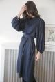 Le Gang - Indress - Robe Quentin Navy - photo produit porté de dos