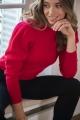 Le Gang - Isabel Marant Etoile  - Pull Kelaya Rouge - photo produit porté de face