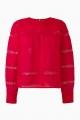 Le Gang - Isabel Marant - Top Rexton rouge - photo produit non porté