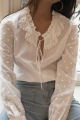 Le Gang - SeeByChloe - Top Blanc - photo produit porté de dos