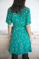 Le Gang - Sessun - Robe Wapi Menthol Henley - photo produit porté de profil
