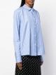 Le Gang - Stella McCartney - Chemise blue rayure - photo produit porté de face