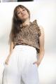 Le Gang - Ulla Johnson - Top Rebecca - photo produit porté de face