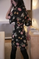Le Gang - Reformation - Robe Carolina - photo produit porté de dos