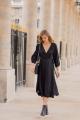 Le Gang - Mirae - Robe Victoria Black - photo produit porté de dos