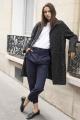Le Gang - Mason's - Manteau Forte - photo produit porté de face