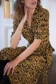 Le Gang - Ganni - Robe Goldstone - photo produit porté de face