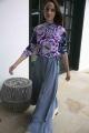 Le Gang - Laurence Bras - Jupe Smith China Bleu - photo produit porté de dos