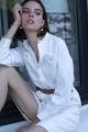 Le Gang - Soeur - Robe Focus Craie - photo produit non porté