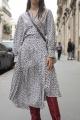 Le Gang - Isabel Marant - Robe Alexandra - photo produit porté de face
