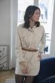 Le Gang - Isabel Marant - Robe Chemise Ecru - photo produit porté de profil