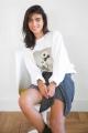 Le Gang - Calvin Klein - Pull White Flower - photo produit non porté