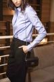 Le Gang - Stella McCartney - Chemise blue rayure - photo produit non porté