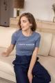 Le Gang - Vanessa Seward - Tee-shirt Sainte Nitouche - photo produit porté de profil
