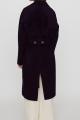 Le Gang - Maje - Manteau en double face ceinturé - photo produit porté de dos