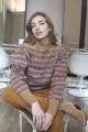 Le Gang - Isabel Marant Etoile  - Pull en laine à motif jacquard Ned - photo produit porté de dos