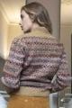 Le Gang - Isabel Marant Etoile  - Pull en laine à motif jacquard Ned - photo produit porté de face