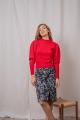 Le Gang - Isabel Marant Etoile  - Pull Rouge - photo produit porté de face