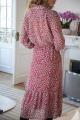 Le Gang - Ba&sh - Robe Bonnie - photo produit porté de profil