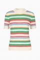 Le Gang - Samsøe Samsøe - T-shirt Maik Creme de menthe - photo produit non porté