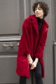 Le Gang - Tara Jarmon - Manteau Mabillon Ruby - photo produit porté de dos