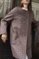 Le Gang - Blumarine - Manteau Sherlock - photo produit porté de profil