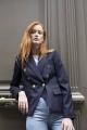 Le Gang - Stella McCartney - Blazer June Blue - photo produit porté de dos